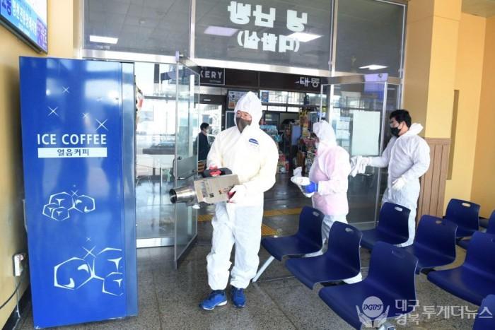 최기문 영천시장, 코로나19 대응 민간인 방역활동 격려1.JPG